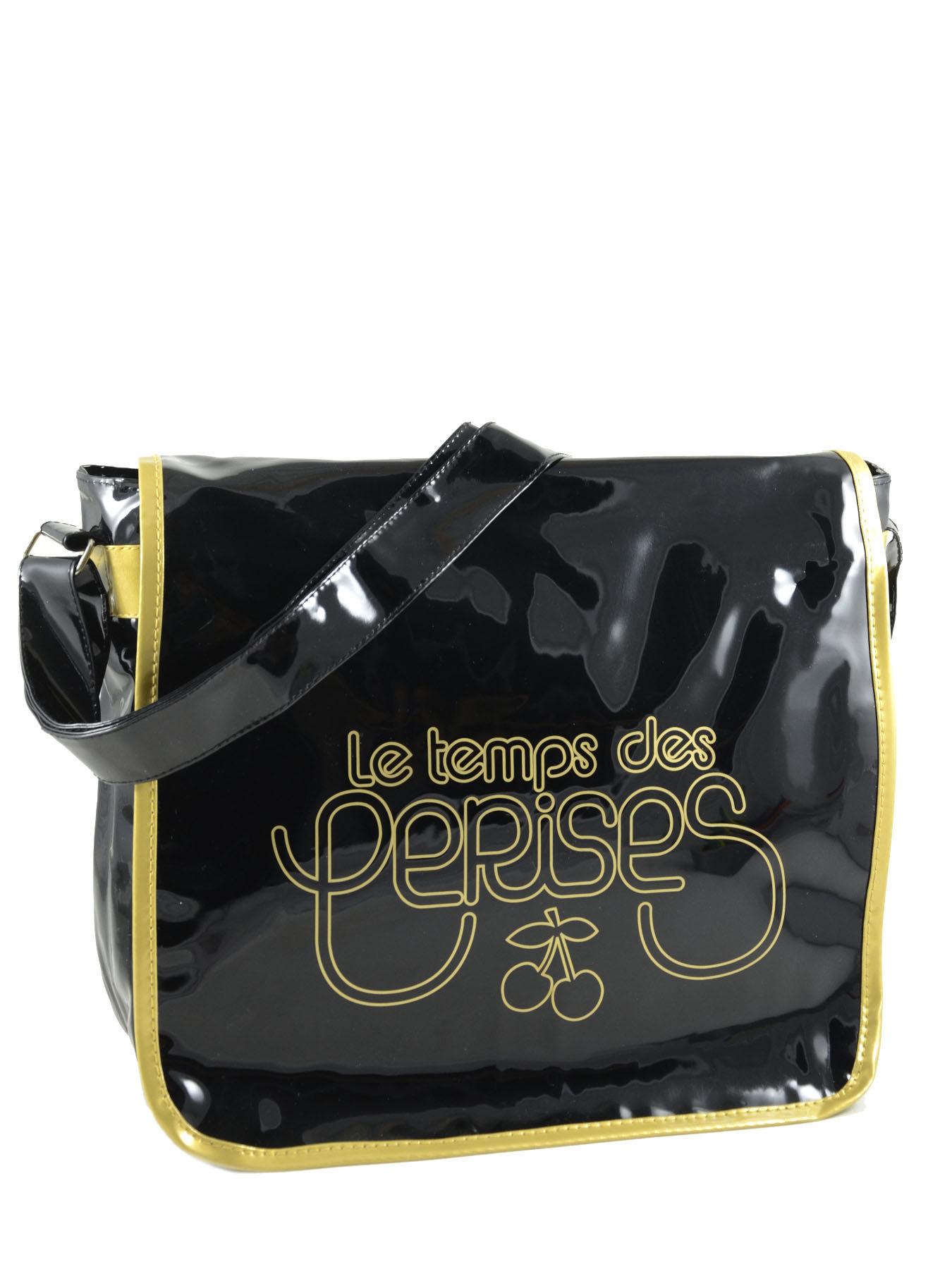 sac port travers le temps des cerises noir bronze rumba. Black Bedroom Furniture Sets. Home Design Ideas