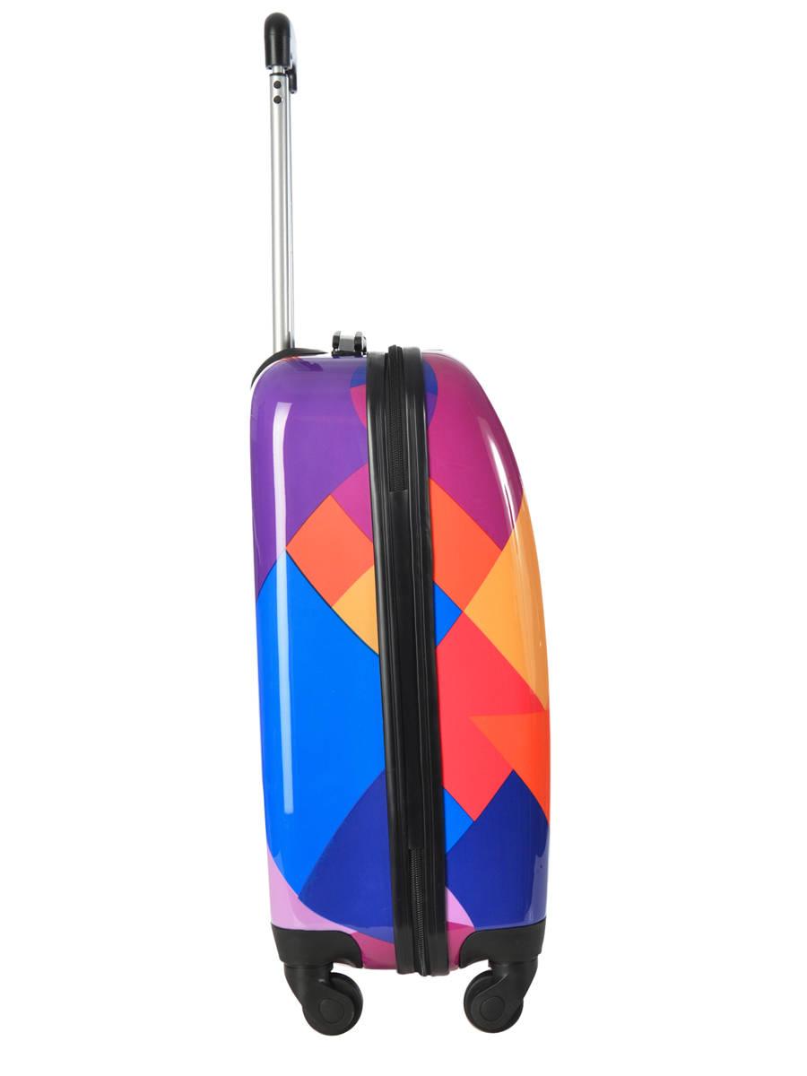 valise cabine travel print shinny print shinny en vente au meilleur prix. Black Bedroom Furniture Sets. Home Design Ideas