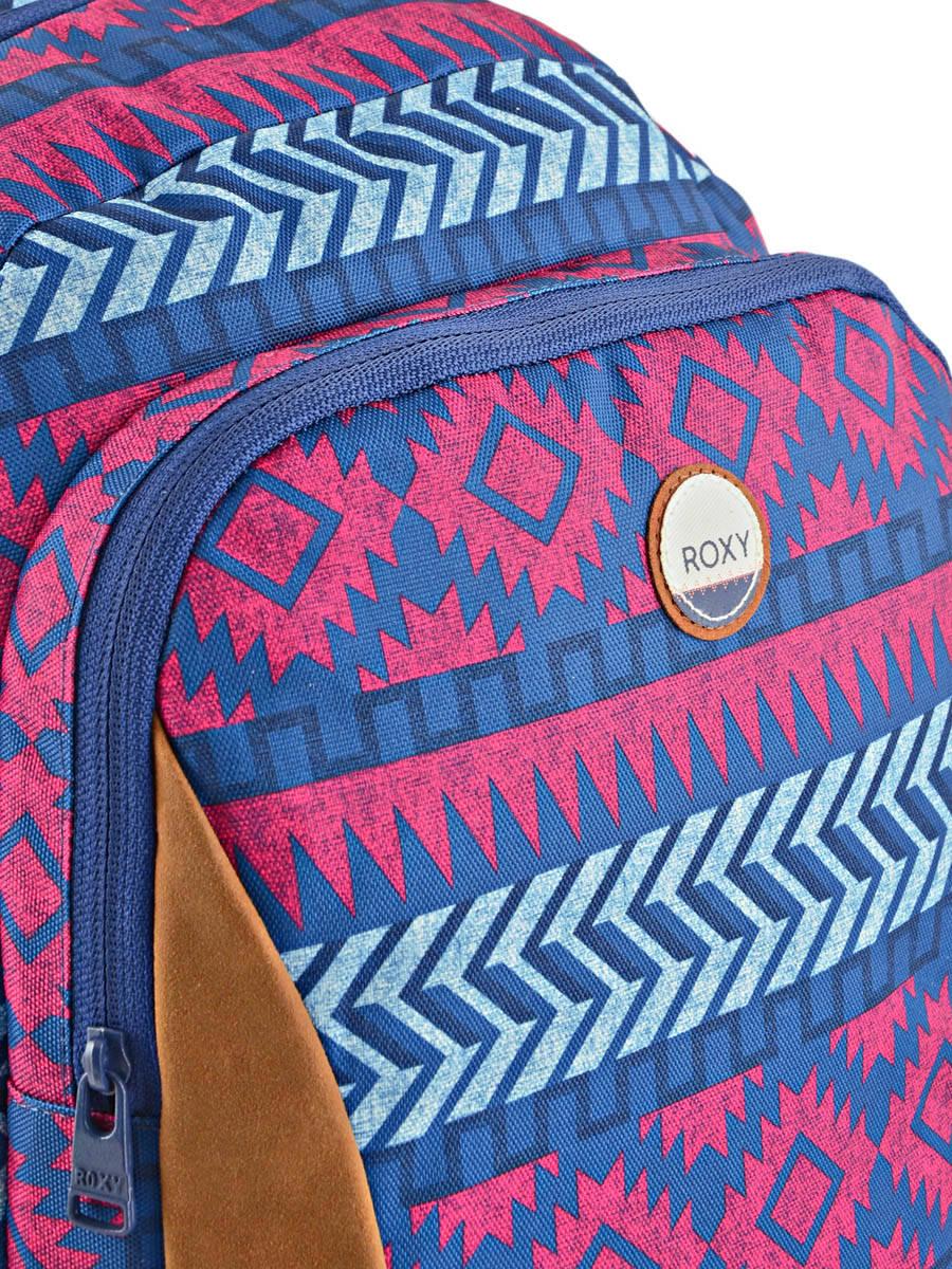 sac dos roxy back to school palce blue en vente au meilleur prix. Black Bedroom Furniture Sets. Home Design Ideas