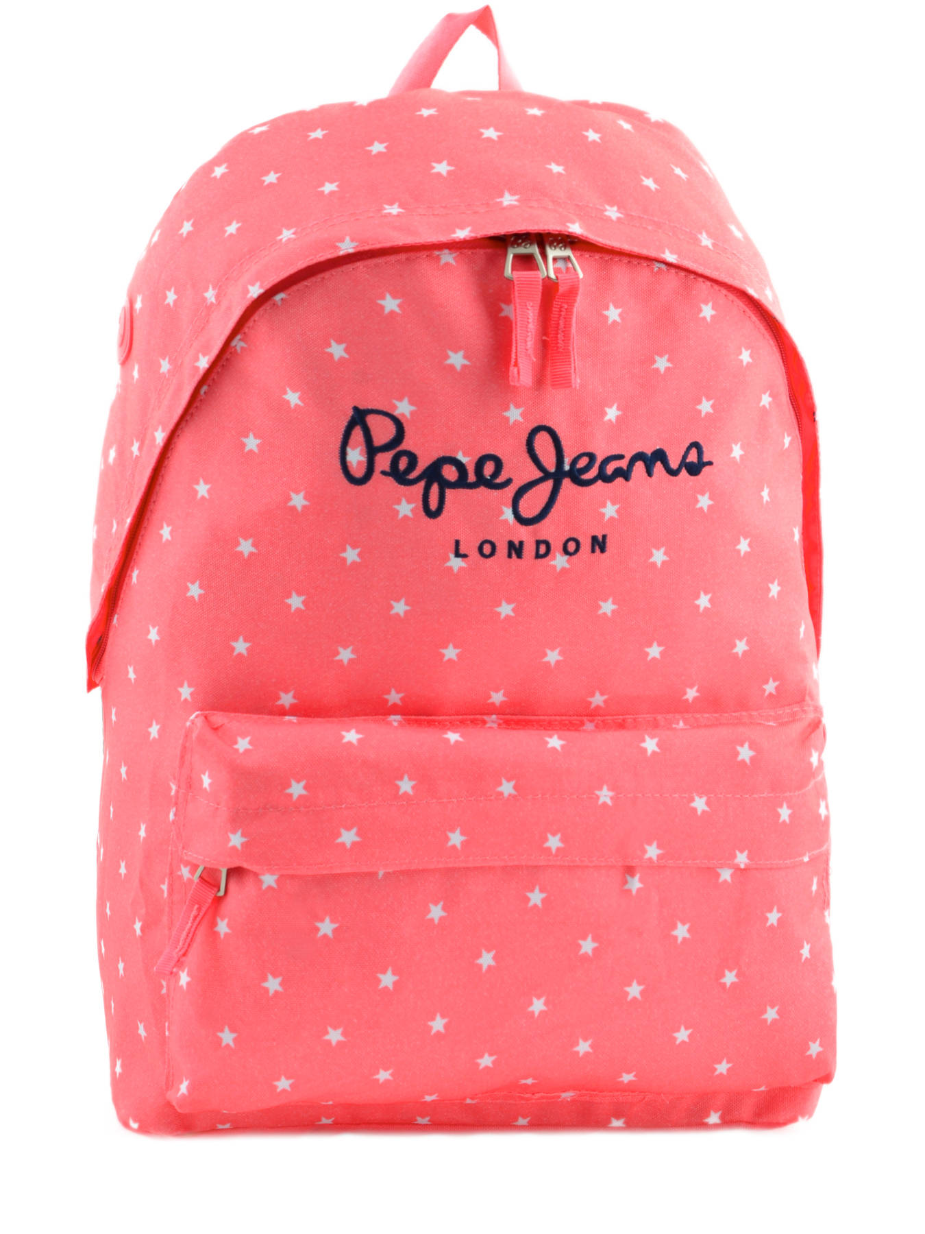 sac dos pepe jeans stars pink en vente au meilleur prix. Black Bedroom Furniture Sets. Home Design Ideas
