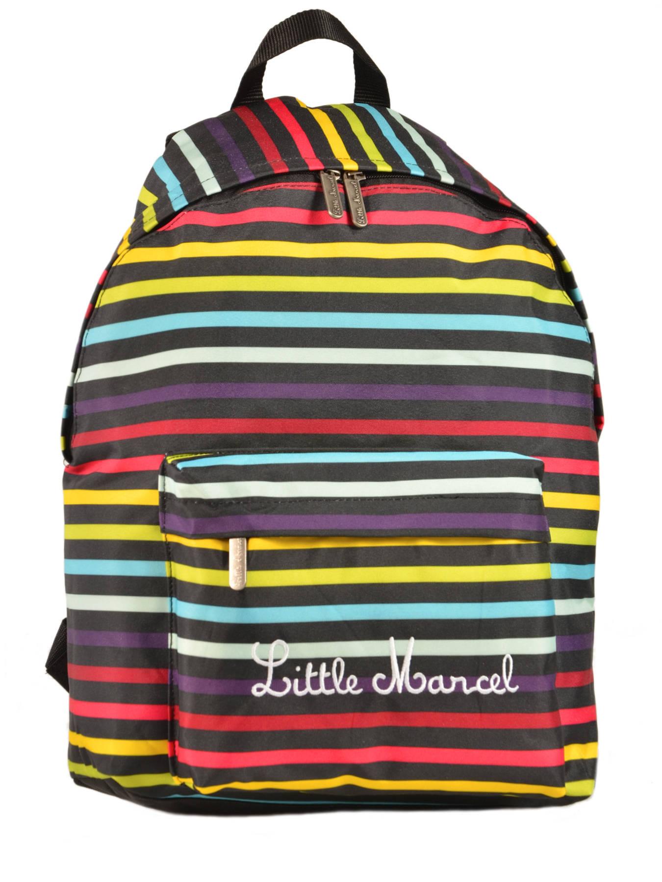 little marcel backpack scolaire best prices. Black Bedroom Furniture Sets. Home Design Ideas