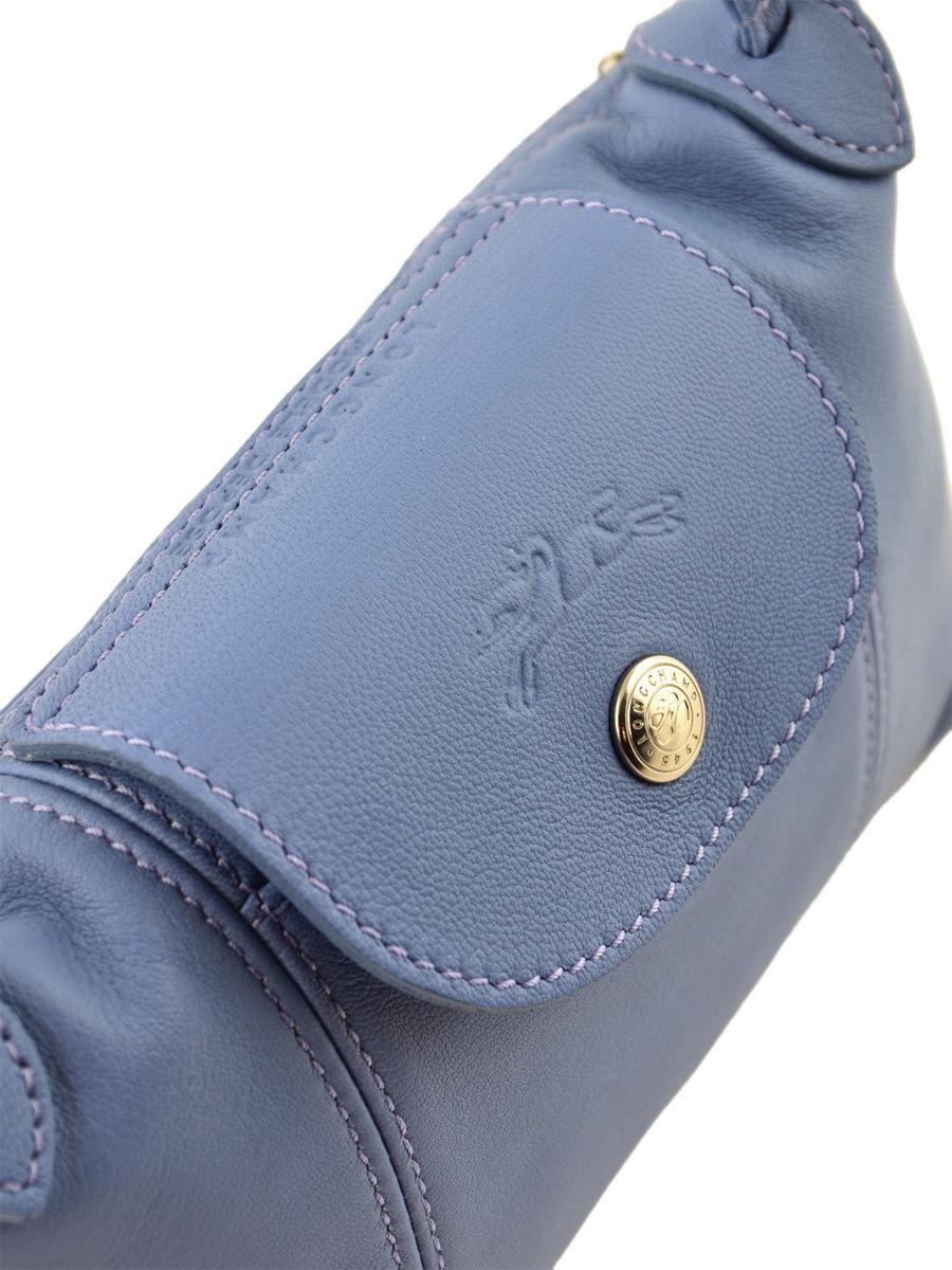 Longchamp Le Pliage Cuir Messenger