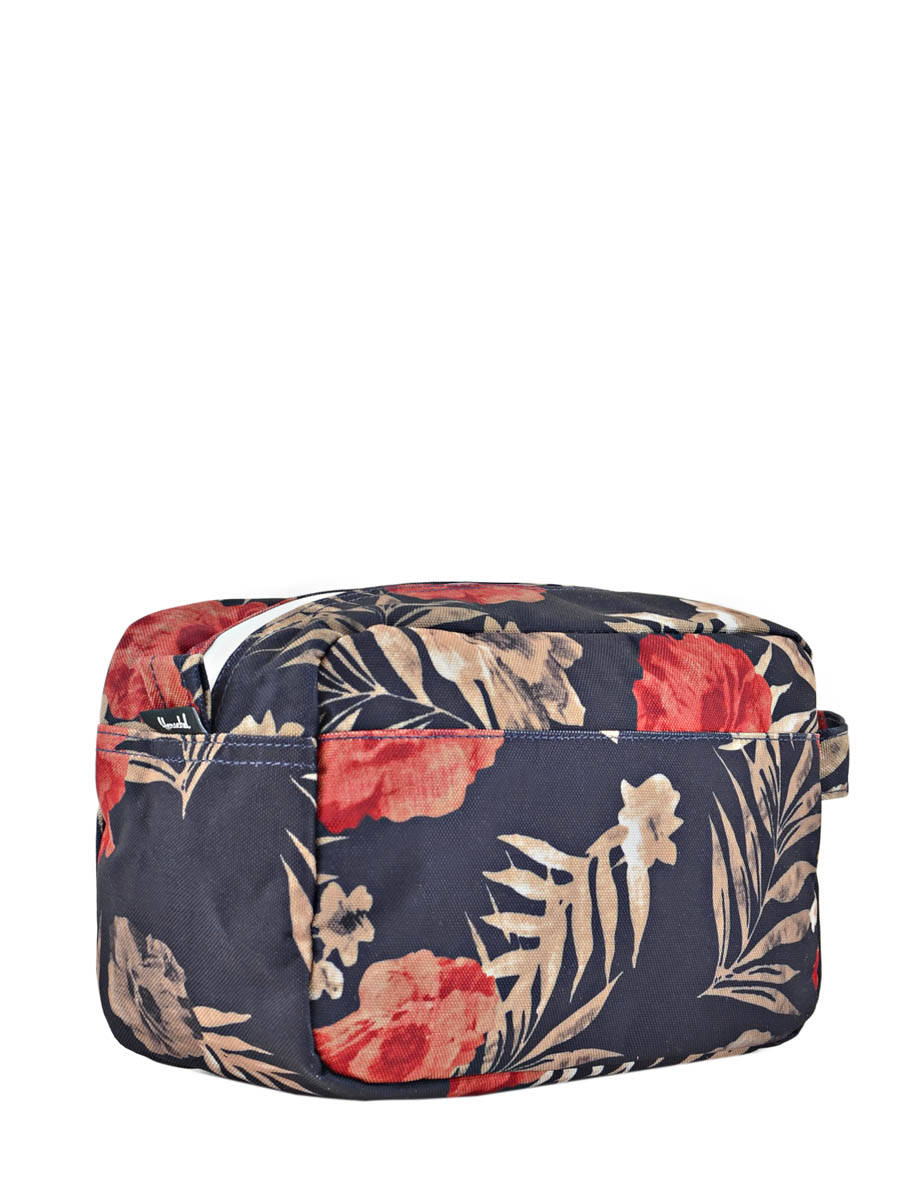 trousse de toilette herschel supply peacoat floria en vente au meilleur prix. Black Bedroom Furniture Sets. Home Design Ideas