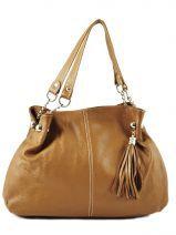 Shopper  Leather Milano Brown 183