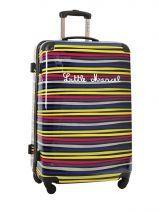 Valise 4 Roues Rigide Little marcel Multicolore zebre ZEBRAS-L
