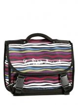 Cartable 1 Compartiment Little marcel Multicolore le petit marcel RAISIN