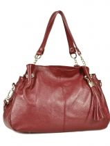 Shopper  Leather Milano Red 183