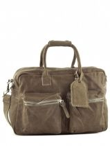 Briefcase Cowboysbag Brown vegetal 1030