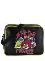 Sac Bandouliere Porte Travers Angry birds Black agr AGR25354