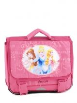 Schoolbag Princess Pink flower 1170