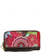 Portefeuille Desigual Multicolore bolse seduccio 46Y5494