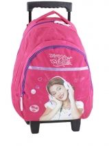 Sac A Dos A Roulettes Violetta Rose tomas 183-6078