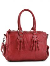 Polochon Master Cuir Ikks Rouge master BE95209