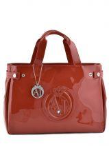 Shopping/cabas Vernice Lucida Verni Armani jeans Orange vernice lucida 5291-55