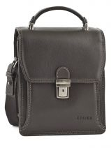 Pochette Homme 2 Compartiments Etrier Marron flandres 22230