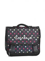 Cartable 1 Compartiment Little marcel Noir scolaire RAISIN
