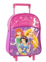 Sac A Dos A Roulettes 1 Compartiment Princess Rose true princess 27907