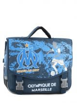 Cartable 2 Compartiments Olympique de marseille Bleu om 153O203S