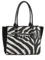 Sac Porte Epaule A4 New York Zebra Woomen Noir new york zebra WNYZ01