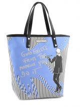 Shopping/cabas Karl Barbara rihl Noir karl E117KIP