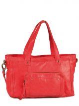 Shopping/cabas Vibs Cuir Pieces Rouge vibs 17038838