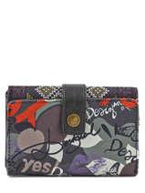 Portefeuille Desigual Multicolore lettering 58Y53H1