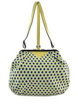 Sac Bandouliere Porte Travers England Dots Woomen Jaune england dots WEND01