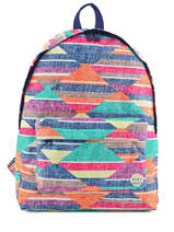 Sac A Dos 1 Compartiment Roxy Multicolore backpack JBP03158