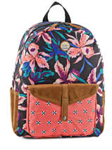 Sac A Dos 1 Compartiment Roxy Multicolore backpack JBP03159