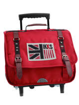 cartable a roulettes ikks pitrca