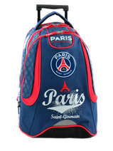 Sac A Dos A Roulettes 2 Compartiments Paris st germain Multicolore paris 163P204R