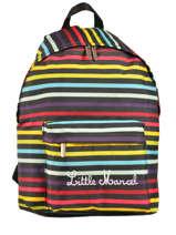 Sac A Dos 1 Compartiment Little marcel Multicolore scolaire NIBY