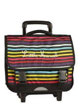 Schoolbag On Wheels Little marcel Multicolor scolaire REWORK
