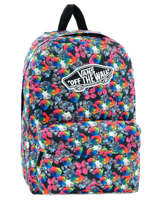 Sac A Dos 1 Compartiment Vans Multicolore backpack women V00NZ0
