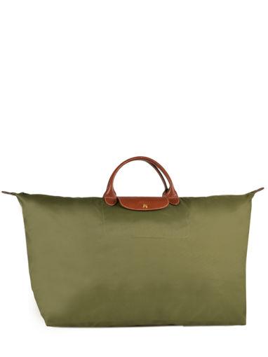 Longchamp Le pliage Travel bag Green