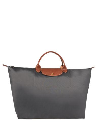 Longchamp Le pliage Travel bag Gray