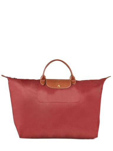 Longchamp Le pliage Sac de voyage Rouge