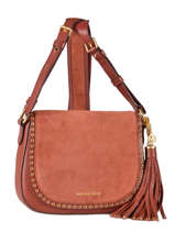 Sac Bandouliere Porte Travers Brooklyn Leather Michael kors Red brooklyn F6ABNM2S
