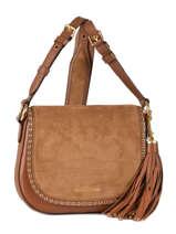 Sac Bandouliere Porte Travers Brooklyn Leather Michael kors Brown brooklyn F6ABNM2S