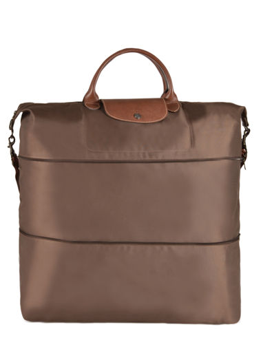 Longchamp Le pliage Sac de voyage Marron