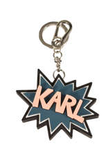 Porte Clefs Karl lagerfeld Black key chains 66KW3809
