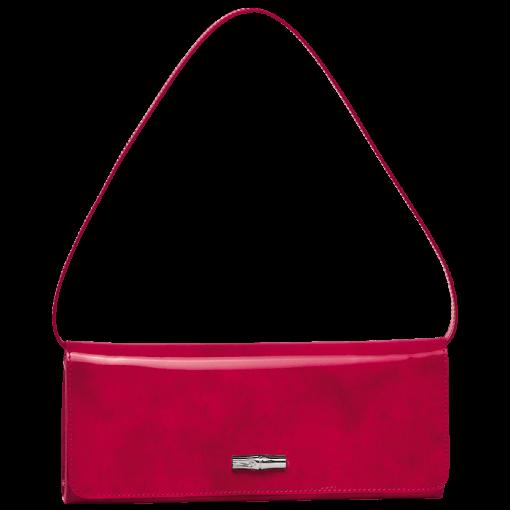 Longchamp Roseau box Pochette Rouge