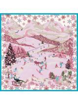 Longchamp Le Pliage Losange Scarves Pink