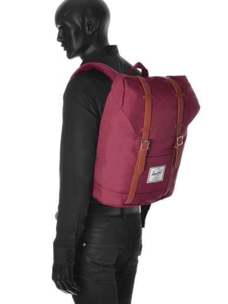 Backpack Herschel Red classics 10066 other view 3