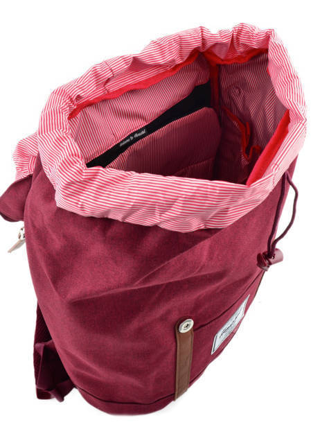 Backpack Herschel Red classics 10066 other view 6