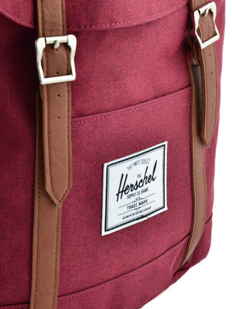 Backpack Herschel Red classics 10066 other view 1