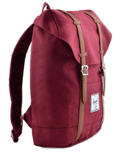 Backpack Herschel Red classics 10066 other view 4