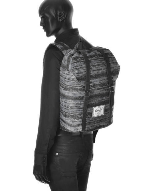 Backpack Herschel Gray classics 10066 other view 3