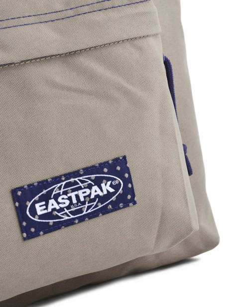 Sac A Dos 1 Compartiment A4 Eastpak Beige pbg PBGK620 other view 1