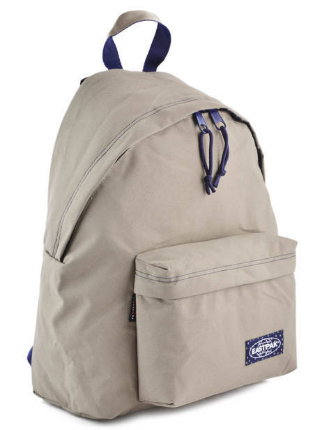 Sac A Dos 1 Compartiment A4 Eastpak Beige pbg PBGK620 other view 3